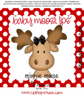Baby Moose Lips Lip Balm - Minnie Moose Chocolate Moose