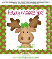 Baby Moose Lips Lip Balm - Moose Fluff