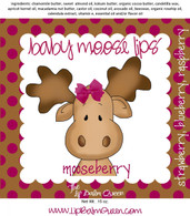 Baby Moose Lips Lip Balm - Mooseberry