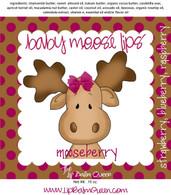 Baby Moose Lips Lip Balm - Mooseberry
