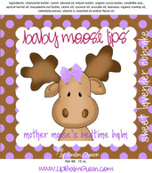 Baby Moose Lips Lip Balm - Mother Moose's Bedtime Balm