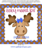Baby Moose Lips Lip Balm - Senor Moose