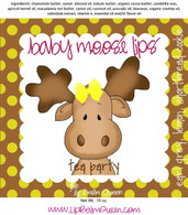 Baby Moose Lips Lip Balm - Tea Party