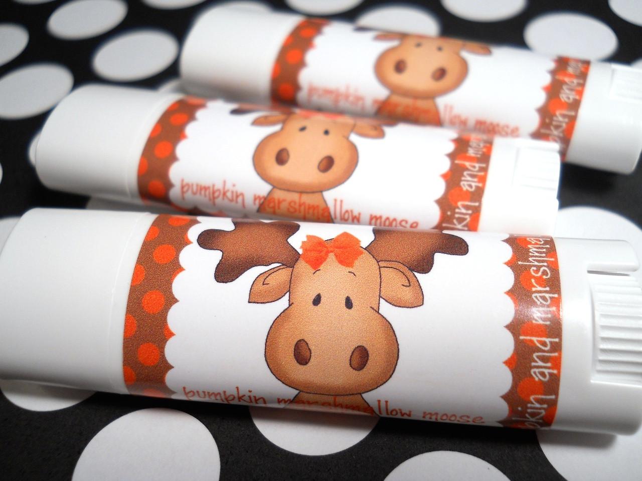 Pumpkin Marshmallow Moose Baby Moose Lips Lip Balm
