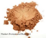 Medium Bronzer and Blush Mineral Makeup No. 3