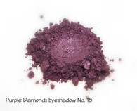 Purple Diamonds Mineral Eyeshadow No. 18