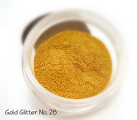 Gold Sparkling Cosmetic Glitter No. 28
