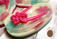 Tropical Strawberry Flip Flop Soap - PAMPER ME
