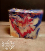 An American Oil Color Luxury Artisan Triple Butter CP Soap - American Cream (LUSH Type)