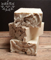 Vanilla Bean Froth 100% Natural Handmade Cold Processed Soap - Fragrance Free & Dye Free