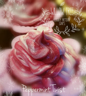 Twisted Peppermint Cupcake Luxury Artisan Soap