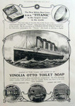 Titanic Vinolia Luxury Artisan Soap