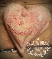 Twisted Peppermint Heart Luxury Artisan Soap