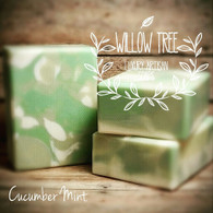 Cooling Cucumber Mint Luxury Artisan Soap
