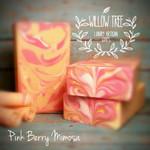 Pink Berry Mimosa Luxury Artisan Soap
