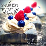 Blueberry Cobbler with Strawberry Glaze Luxury Artisan Soap