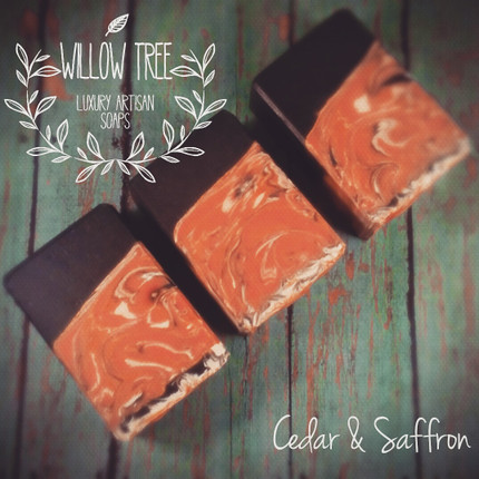 Cedar & Saffron Luxury Artisan Soap
