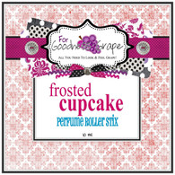 Frosted Cupcake Perfume Roller Stix 10 ml - Roll on Perfume Oil  A deliciously decadent, moist white cupcake smothered in rich, buttercream frosting. You can't resist this one - ooh la la!  Perfect to carry along in your purse for little touch-ups throughout the day.  PERFUME ROLLER STIX are great for layering scents as well, which is one of my favorite ways to use them. Just put one or two in your purse or in your pocket and you are good to go!  PERFECT SIZE FOR PURSE, TRAVEL OR BACKPACK  All of my Perfume Roller Stix and Perfume Stix are blended with are all infused with richly scented perfume grade oils and essentials oils and in perfume ratios into a blend of coconut and jojoba oils which absorb quickly into the skin to keep you smelling GRAPE for hours!    To use: Apply to pulse points on wrists, inside the elbows, behind the ears, or anywhere you want a boost of fragrance. Allow it to sink in for 1-2 minutes and you'll smell 'GRAPE' for hours! (Great!)  Follow this link to see more of my PERFUME Roller Stix in different fragrances: http://www.etsy.com/shop/forgoodnessgrape?section_id=7139636  Follow this link to get back to my main shop page: http://www.etsy.com/shop/forgoodnessgrape?ref=si_shop   This listing is for 1 PERFUME ROLLER STIX and contains approximately 10 ml.  _____________________________________________ Click here to see the BUZZ about my 'GRAPE' products: http://www.etsy.com/feedback_received.php?feedback_type=from_buyers