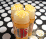 Lemon Cupcake Infused Sugary Lip Scrub - Lip Scrub - Exfoliating Sugar Lip Scrub