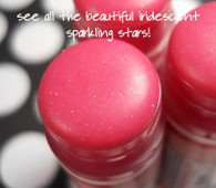 American Beauty Lip Tint - Tinted Lip Balm - Pink with Sparkling Stars