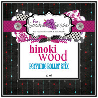 Hinoki Wood Perfume Oil - 10 ml - Roll on Perfume  An exotic blend with warm essences of blondewood, cedar and patchouli which are enhanced with vanilla musk, cinnamon, clove and uplifted with notes of fresh eucalyptus, lavender, orange blossom, jasmine and rose. Very sexy!  Perfect to carry along in your purse for little touch-ups throughout the day.  PERFUME ROLLER STIX are great for layering scents as well, which is one of my favorite ways to use them. Just put one or two in your purse or in your pocket and you are good to go!  PERFECT SIZE FOR PURSE, TRAVEL OR BACKPACK  All of my Perfume Roller Stix and Perfume Stix are blended with are all infused with richly scented perfume grade oils and essentials oils and in perfume ratios into a blend of coconut and jojoba oils which absorb quickly into the skin to keep you smelling GRAPE for hours!    To use: Apply to pulse points on wrists, inside the elbows, behind the ears, or anywhere you want a boost of fragrance. Allow it to sink in for 1-2 minutes and youƒ??ll smell ƒ??GRAPEƒ?? for hours! (Great!)  Follow this link to see more of my PERFUME Roller Stix in different fragrances: http://www.etsy.com/shop/forgoodnessgrape?section_id=7139636  Follow this link to get back to my main shop page: http://www.etsy.com/shop/forgoodnessgrape?ref=si_shop   This listing is for 1 PERFUME ROLLER STIX and contains approximately 10 ml.  _____________________________________________ Click here to see the BUZZ about my ƒ??GRAPEƒ?? products: http://www.etsy.com/feedback_received.php?feedback_type=from_buyers
