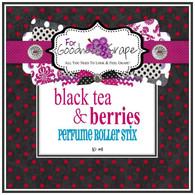 Black Tea and Berries Perfume Oil - 10 ml - Roll on Perfume