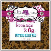 Brown Sugar & Fig (type) Perfume Oil - 10 ml - Roll On Perfume