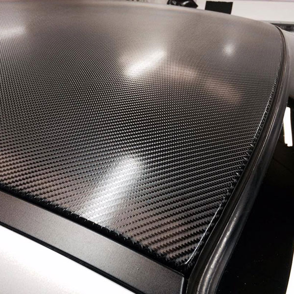 4d Carbon Roof Wrap Car Wrap Direct