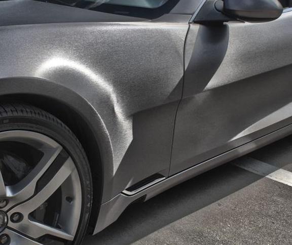 brushed aluminum brushed aluminum vinyl car wrap. Black Bedroom Furniture Sets. Home Design Ideas