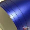 Matte Chrome Vinyl with ADT - Blue