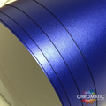 Matte Chrome Vinyl with ADT - Blue