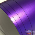 Matte Chrome Vinyl with ADT - Purple