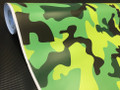 Lime Green Camouflage Vinyl with ADT
