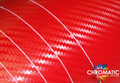 3D Carbon Fibre Vinyl with ADT - Red