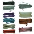 Flat Fun Fashion Lurex Shoes/Trainers/Plimsols Laces