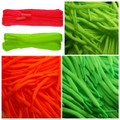 Flat 5mm Fluorescent Laces Various Lengths & Colours For Shoes/Trainers/Plimsols