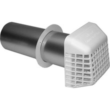 Deflecto Dryer Wall Vent Pipe Kit Amp Seal Bird Guard