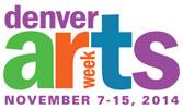 Denver Arts Week Demo & Dialogue, DENVER November 8, 11am-4:30pm