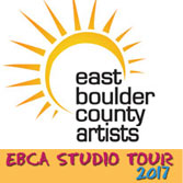 2017 East Boulder County Artists Studio Tour and Preview Show, April 29-30, various locations Boulder County
