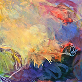 Demo & Dialogue: Oil Pastels into Abstraction with Marianne Mitchell, Saturday, May 5, 1-3pm