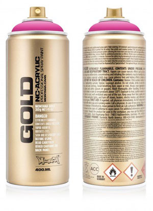 Montana Gold Cans 400ml