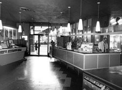 Meininger store, interior, 1415 Tremont St.