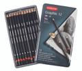 Derwent Graphic Soft Pencil 12pc Tin