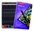 Derwent Studio Pencil 12pc Tin