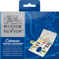 Winsor & Newton Cotman Watercolor Compact 17pc Set