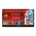 Koh-I-Noor Polycolor Pencil Tin 72pc Set