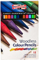 Koh-I-Noor Woodless Color Pencil 12-set