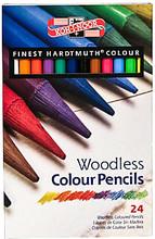 Koh-I-Noor Woodless Colour Pencils 24-set
