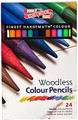 Koh-I-Noor Woodless Colour Pencils 24-set