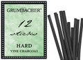 Grumbacher Vine Charcoal Hard 12pk